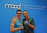 Rafa Castejón, otro gran actor de la escena española, tamién se ha puesto en manos de Chema Menéndez para cumplir su Reto Total Gym.