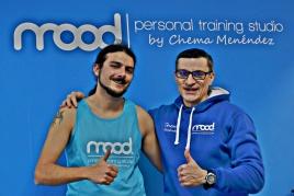 Álvaro, otro alumno nuevo que va mejorando su forma poco a poco.