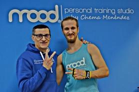 Fernando que tras mucho tiempo sin poder hacer piernas por una lesión ya las ejercita puesto que las Total Gym no tienen impacto.